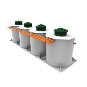 Kolo Ilma 100 может быть установлена на двух-трехэтажный загородный дом для одновременного проживания 100 пользователей