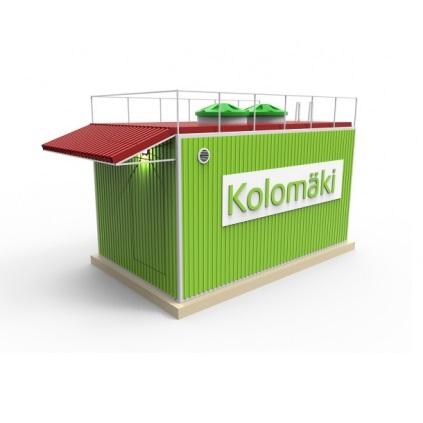 Локальная очистная станция Коло Илма