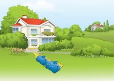 купить септик для очистки стоков загородного дома