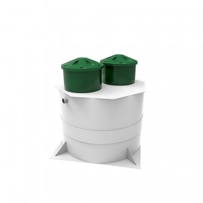 Kolo Vesi 15 Prin автономная канализация с принудительным отведением очищенных стоков