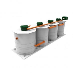 Kolo Ilma 100 автномная канализация глубокой очистки сточных вод на 100 человек