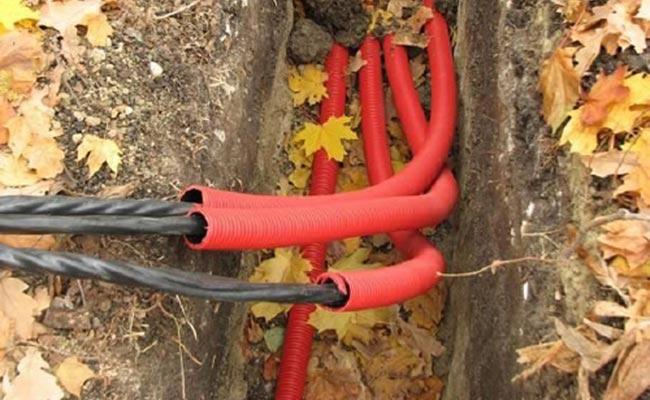 Подведение электропитания к системам локальной очистки стоков