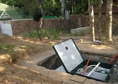 юбас или юнилос - выбор загородной канализации